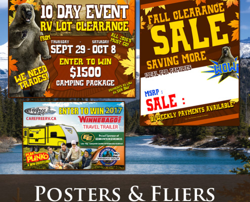 Carefree RV Posters & Fliers
